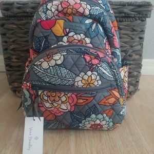 NWT VERA BRADLEY ESSENTIAL SMALL COMPACT BACKPACK